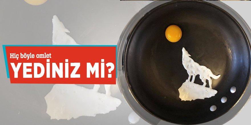 Meksikalı Sanatçı Michele Baldini'nin Omlet Sanatı hayran bıraktı