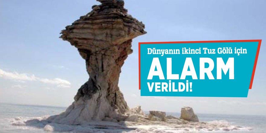 Dünyanın ikinci Tuz Gölü için alarm verildi!
