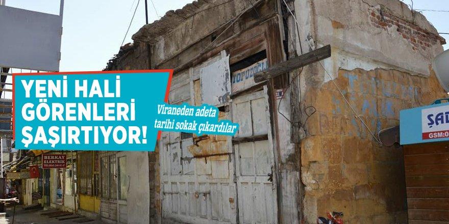 """Yozgat'ta """"Nereden nereye"""" dedirten restore!"""