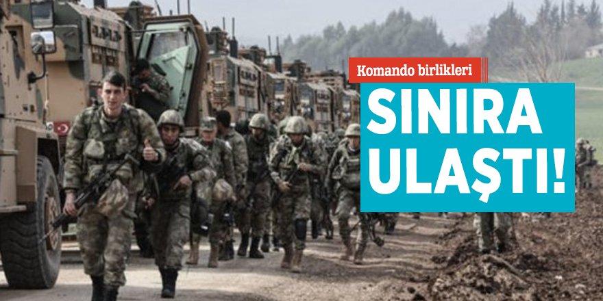 Komando birlikleri sınıra ulaştı