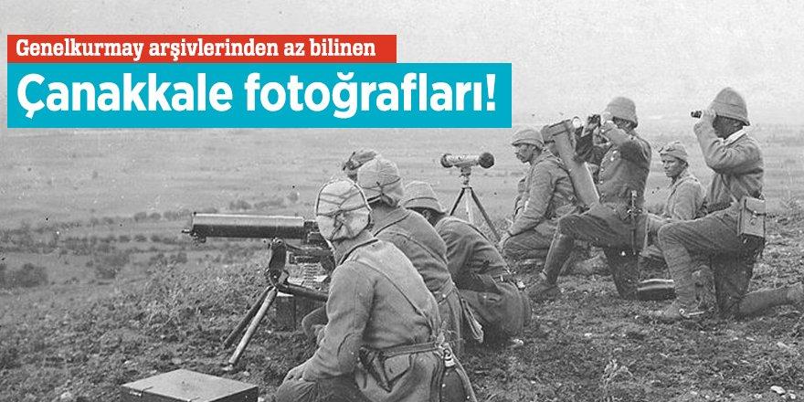 Genelkurmay arşivlerinden az bilinen Çanakkale fotoğrafları!