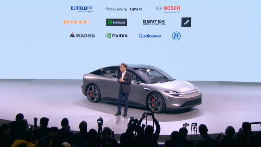 Sony'den elektrikli otomobil sürprizi! 1