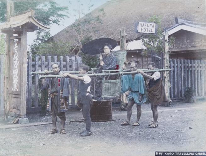 Renklendirilmiş fotoğraflarıyla 1890'ların Japonya'sı 17