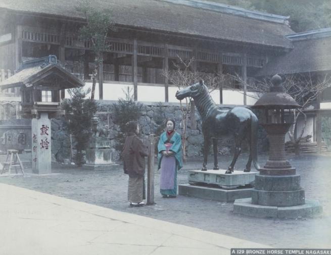 Renklendirilmiş fotoğraflarıyla 1890'ların Japonya'sı 2
