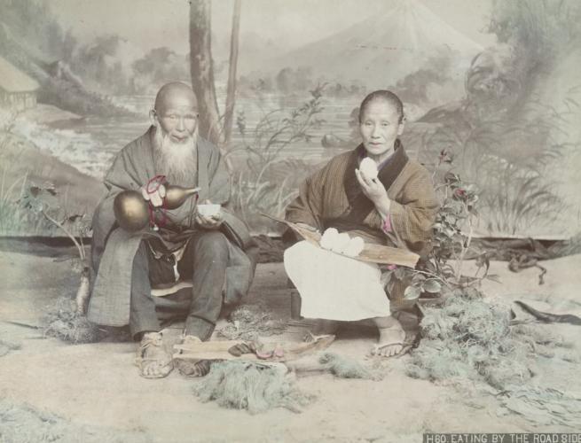 Renklendirilmiş fotoğraflarıyla 1890'ların Japonya'sı 26