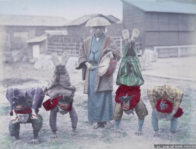 Renklendirilmiş fotoğraflarıyla 1890'ların Japonya'sı 30