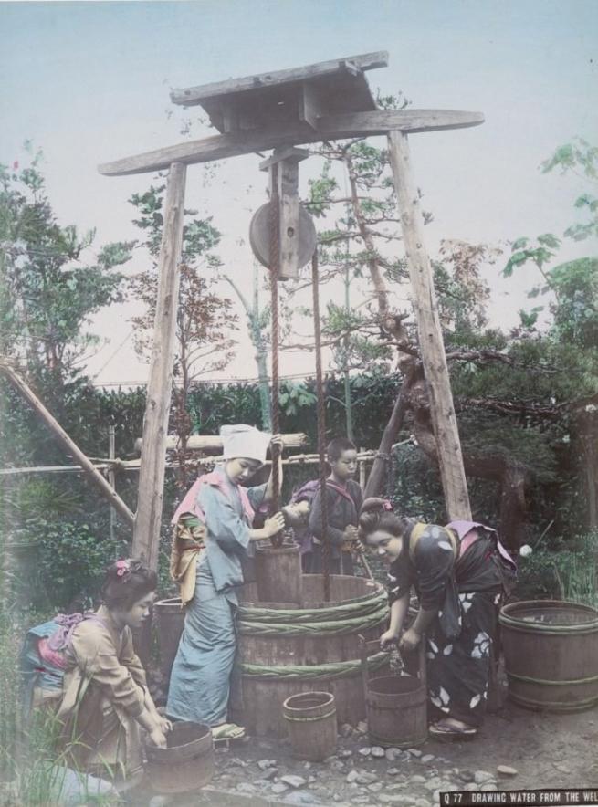 Renklendirilmiş fotoğraflarıyla 1890'ların Japonya'sı 6