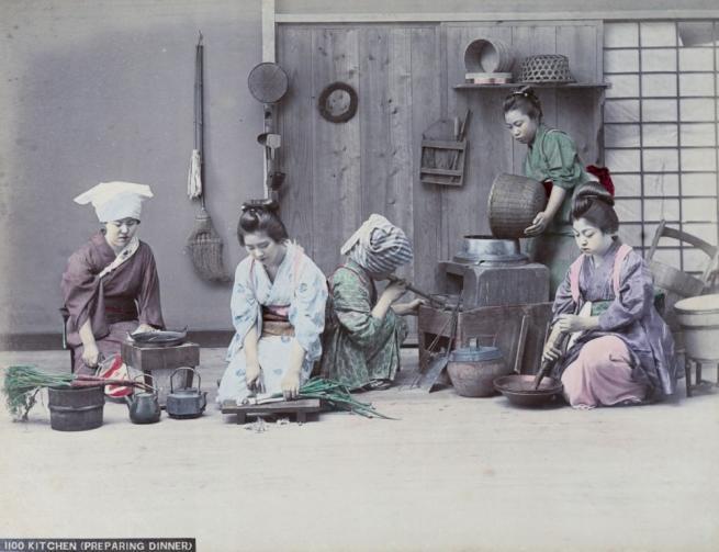 Renklendirilmiş fotoğraflarıyla 1890'ların Japonya'sı 8