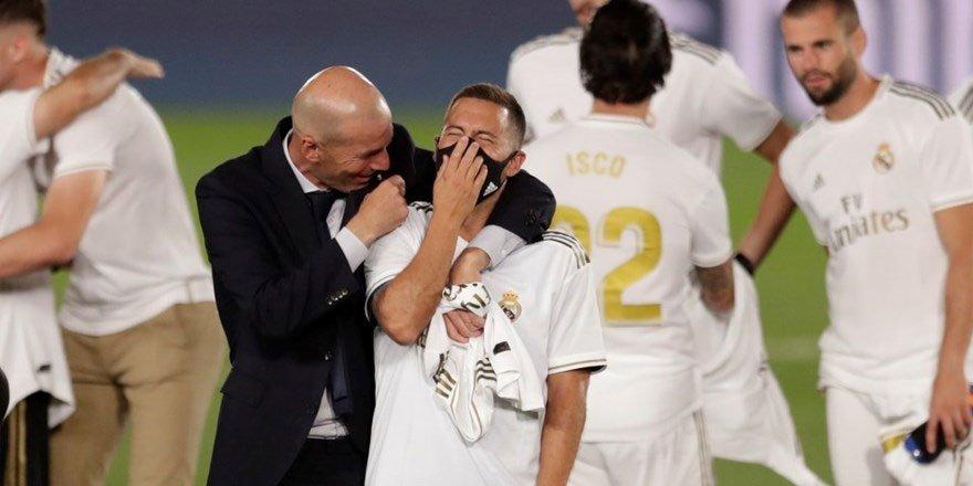 İspanya La Liga'da şampiyon Real Madrid!