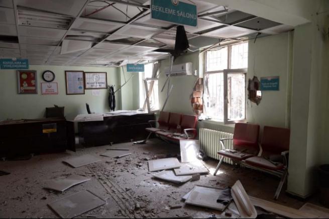Hastaneleri bile yaktılar 8