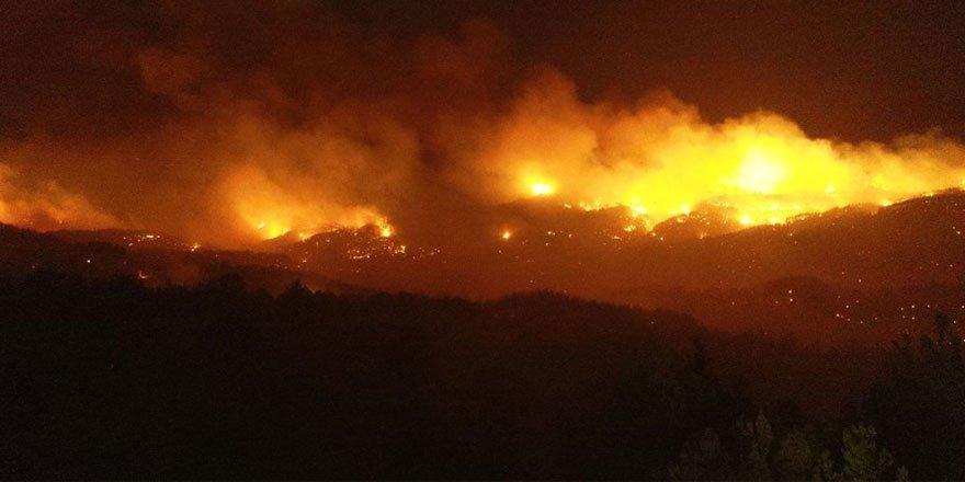 Adana'da orman yangını: 6 köy ve 800 hane boşaltıldı