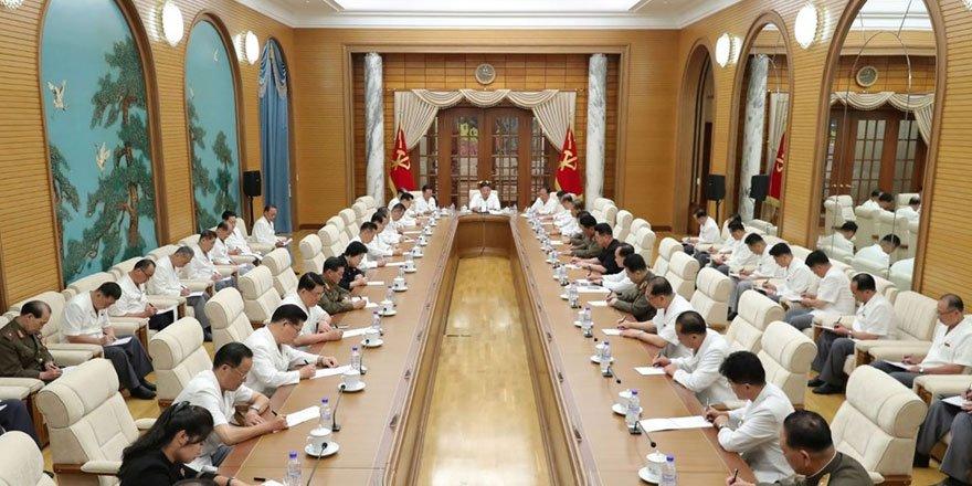 Komada olduğu iddia edilen Kim Jong'dan yeni görüntü