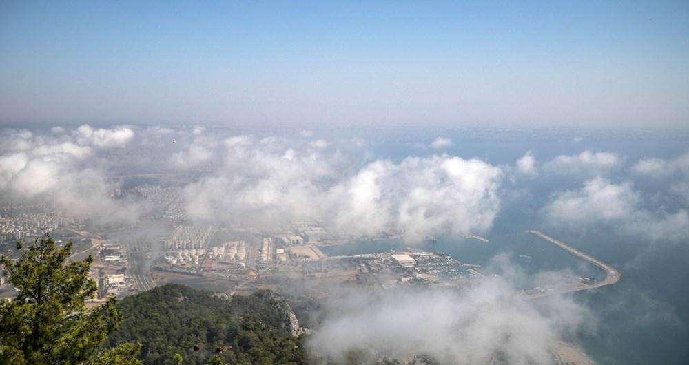 Antalya'da son 75 yılın en sıcak Eylül'ü! Nem bulutları kaplad 1