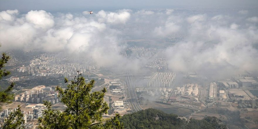 Antalya'da son 75 yılın en sıcak Eylül'ü! Nem bulutları kaplad