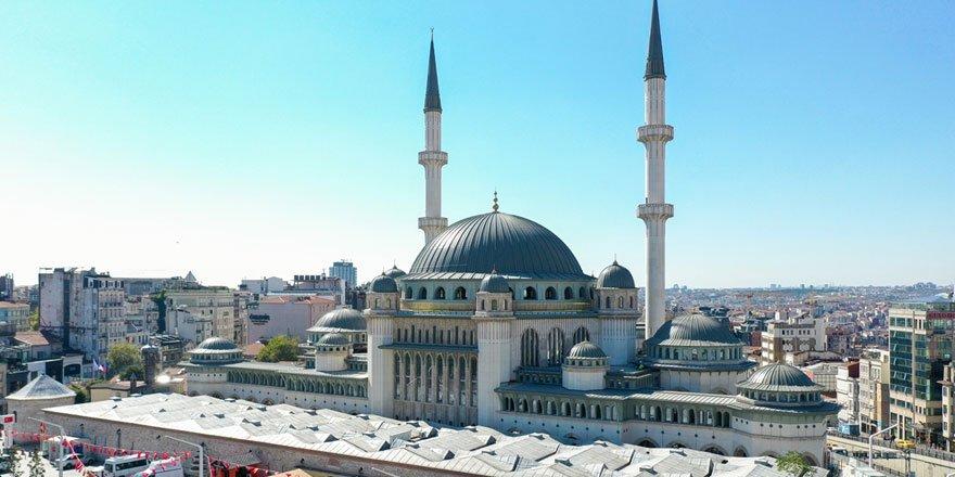 Taksim'e yapılan camide sona yaklaşıldı! Yüzde 80'i tamamlandı