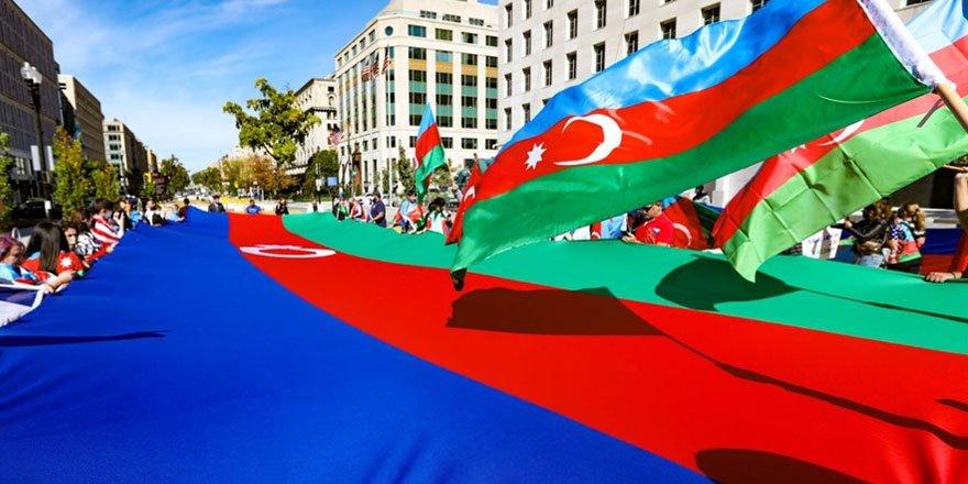 Beyaz Saray önünde Azerbaycan'a destek mitingi!