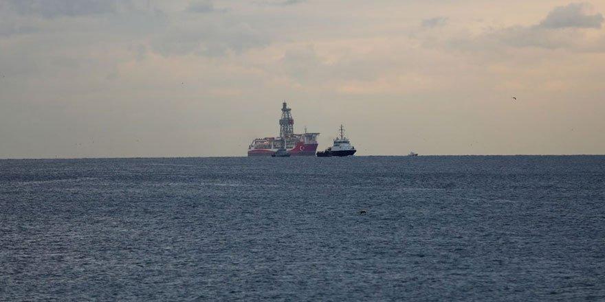 Kanuni sondaj gemisi İstanbul'a ulaştı!