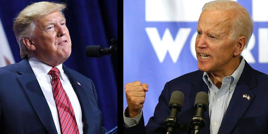 ABD'de seçimlerinde son viraja girildi: Anketlere göre Biden önde