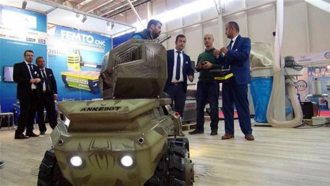 'Ankerot' oyuncak değil, mini tank 1