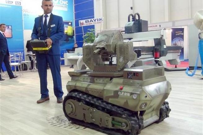 'Ankerot' oyuncak değil, mini tank 4