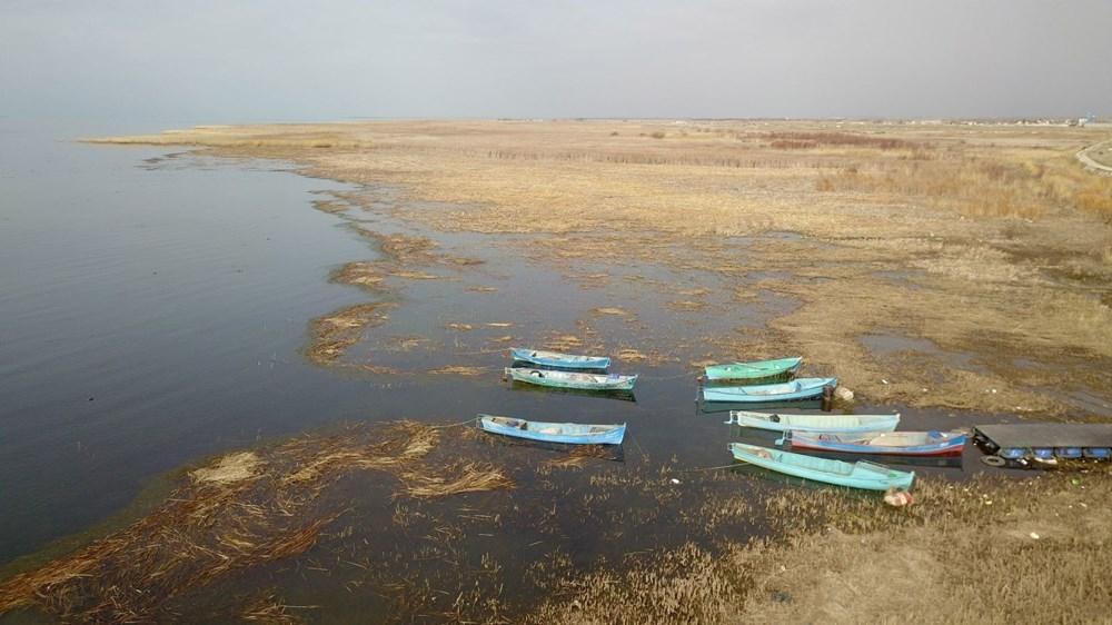 Beyşehir Gölü alarm veriyor: 50 metre çekildi 1