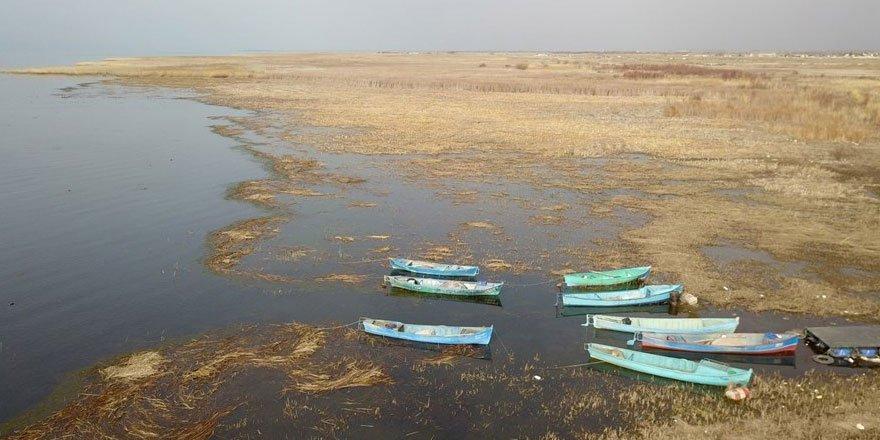 Beyşehir Gölü alarm veriyor: 50 metre çekildi
