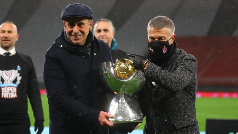 Trabzonspor ikinci kez TFF Süper Kupa'yı kazandı 1