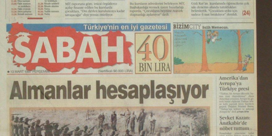 İşte #28Şubat 'ın utanç manşetleri