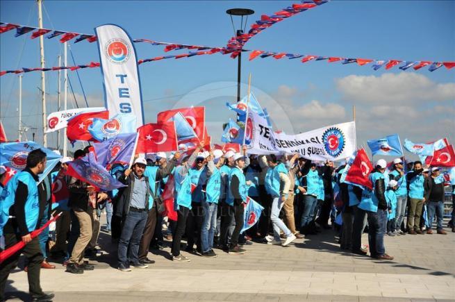 Çanakkale'de 1 Mayıs kutlamaları 1