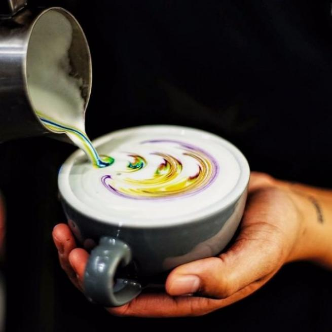 """İşte dünyadaki yeni trend  """"Latte Art"""" lar 16"""