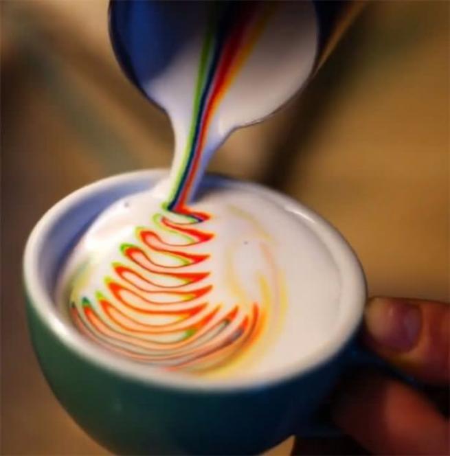 """İşte dünyadaki yeni trend  """"Latte Art"""" lar 18"""