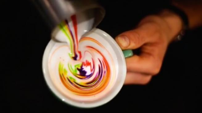 """İşte dünyadaki yeni trend  """"Latte Art"""" lar 2"""