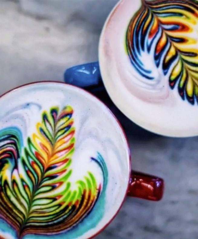"""İşte dünyadaki yeni trend  """"Latte Art"""" lar 7"""