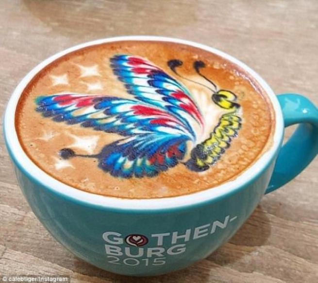 """İşte dünyadaki yeni trend  """"Latte Art"""" lar 8"""