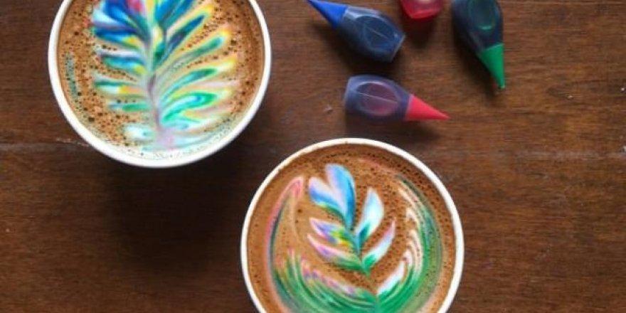 """İşte dünyadaki yeni trend  """"Latte Art"""" lar"""