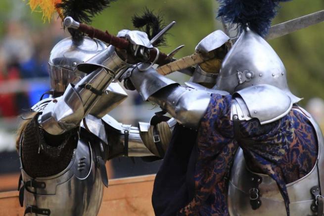 Moskova'da 'Şövalye Festivali' 7