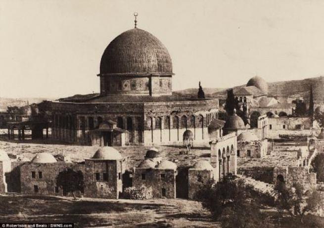 156 yıl önce Kudüs ve Mescid-i Aksa 11