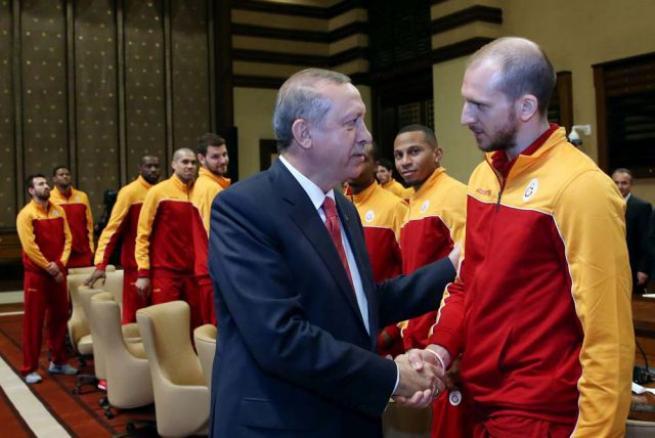Eurocup Şampiyonu Galatasaray Erkek Basketbol Takımı Külliye'de 4