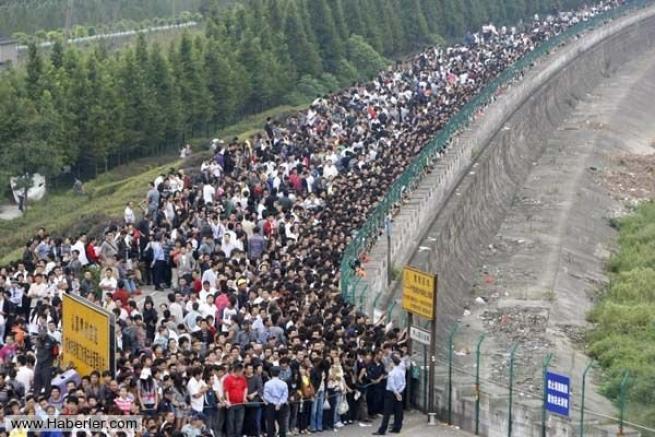 Çin'in Önlenemez Nüfus Artışının Kanıtı 20 Fotoğraf 2