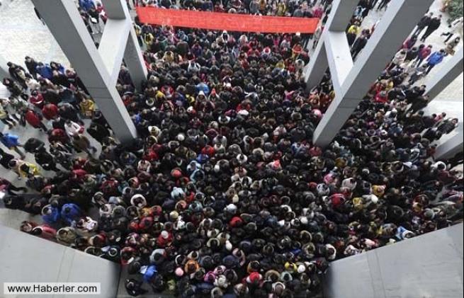Çin'in Önlenemez Nüfus Artışının Kanıtı 20 Fotoğraf 3