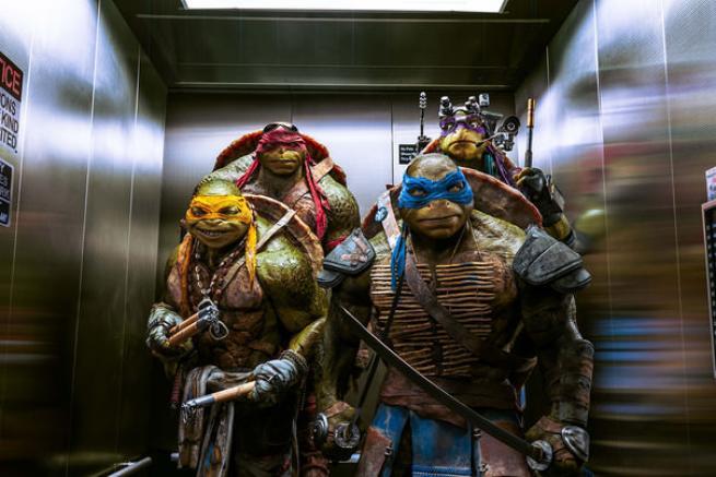Ninja Kaplumbağalar dönüyor 5