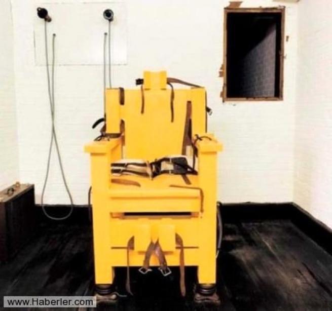 Amerika'nın kan donduran 25 idam odası 1