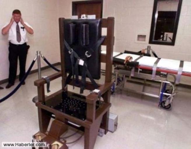 Amerika'nın kan donduran 25 idam odası 19