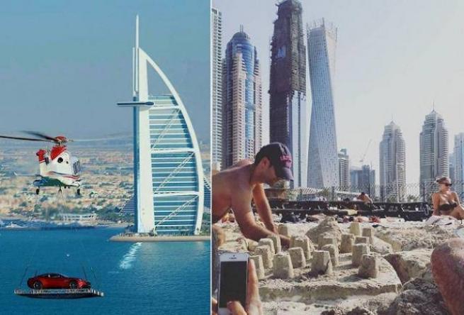 Bunlar sadece Dubai'de 34