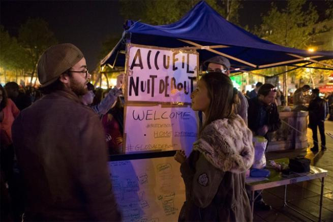 Fransa'da 'gece ayakta' eylemi 14