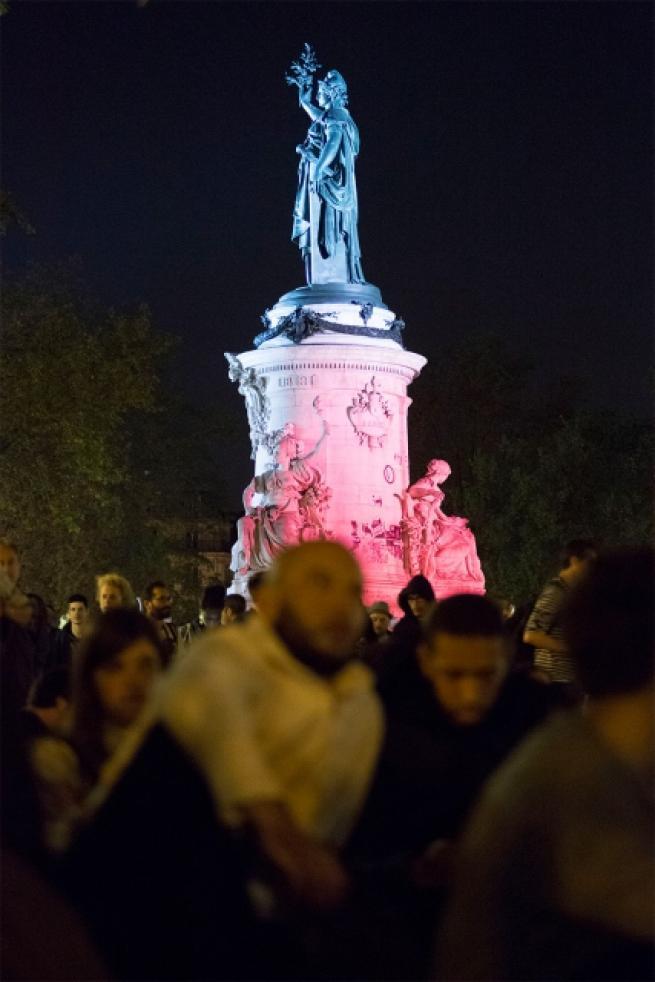 Fransa'da 'gece ayakta' eylemi 15
