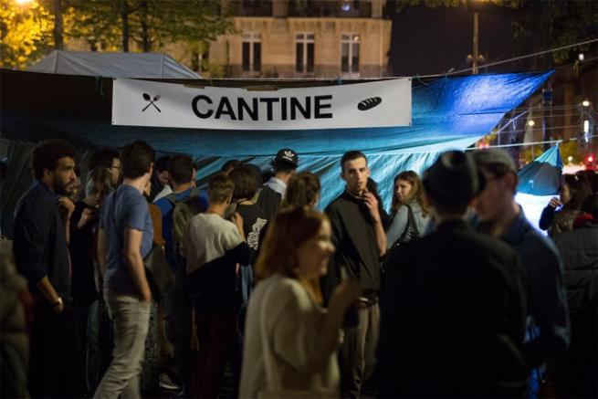 Fransa'da 'gece ayakta' eylemi 16