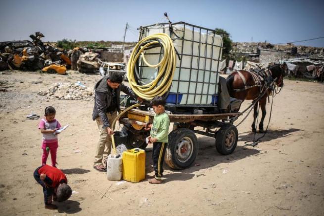 Gazze'deki içme suyu sorunu 10