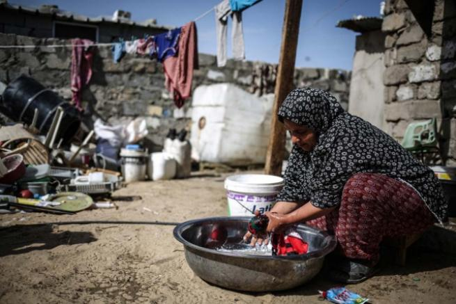 Gazze'deki içme suyu sorunu 11