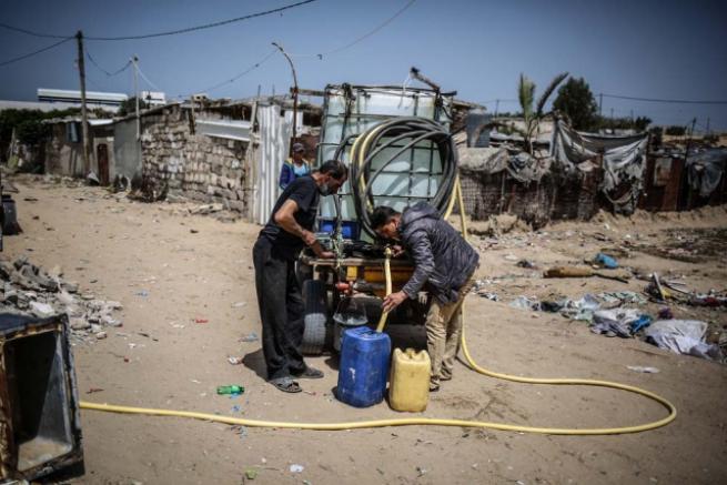 Gazze'deki içme suyu sorunu 7